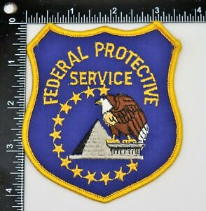 FEDERAL PROTECTIVE SERVICE PATCH Vintage Original