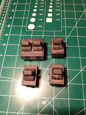 Used but working 1997 dodge ram 1500 4x4 magnum door toggle switches set