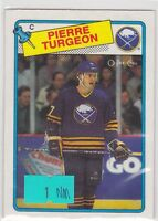 1988 88-89 O-Pee-Chee OPC #194 Pierre Turgeon RC Rookie NM Near Mint