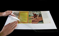 """10x BRODART  book jacket cover 14"""" JUST-A-FOLD"""