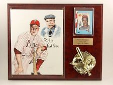 Richie Ashburn Phillies Baseball Hall of Fame Framed Collage Placque