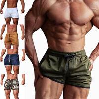 Men's Fitness Sports Shorts Football Gym Workout Training Running Jogging Pants