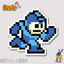 Nintendo Aufkleber Mega Man Sticker Wasserfest für Auto Laptop Pc Handy Megaman