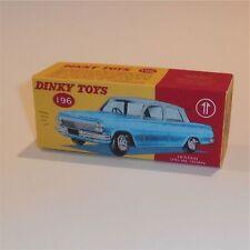 Dinky Toys 196 Holden Aqua Colour Sedan Empty Custom Box