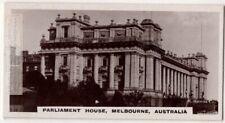 Parliment House Melbourne Australia Victoria 1920s Trade Ad Card