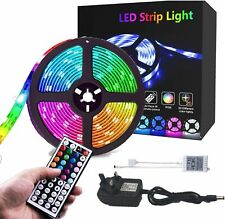LED Strip Light, CGN 5M Strips Lighting Kit IP65 Waterproof 150LEDs 5050 RGB.