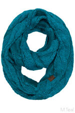 ScarvesMe CC Women Fashion Knitted Weaved Infinity Loop Scarf