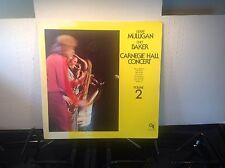 CHET BAKER & GERRY MULLIGAN - Carnegie Hall Vol. 2 ~ CTI 6055 *1974* {nm} ->RARE