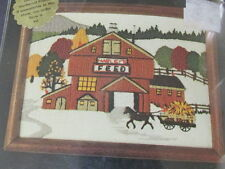 Stitchery Kit Dimensions Harleys Feed General Store Crewel Embroidery 5x7