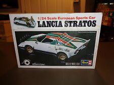 Revell 1:24 Lancia Stratos European Sports Car Model Kit *Open Box* #7303