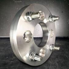 """4x4.25 aka 4x108 to 4x137 US Wheel Adapters 12x1.5 Studs x 4 hubs 1"""" Thick 63.4"""