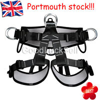 Pro Tree Carving Fall Protection Rock Climbing Equip Gear Rappelling Harness UK!
