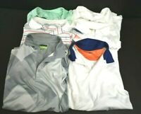 Mens XXL Short Sleeve Mixed Brands & Styles Breathable Golf Polo Shirts Lot of 6