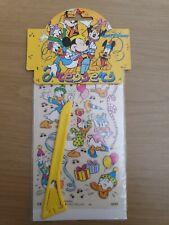 Walt Disney - Pressets - Transfer Stickers - Donald Duck - 90s