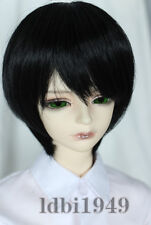 7-8 1/4 BJD Wig Dal BJD SD LUTS DOD DD Dollfie Doll Wig Black Hair 1#