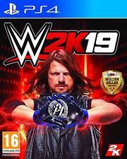 WWE 2K19 PS4 CD FÍSICO NUEVO PRECINTADO EN CASTELLANO ESPAÑOL