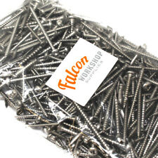 MASSIVE MIXED SELECTION OF A2 STAINLESS STEEL POZI CSK + POZI PAN WOOD SCREWS