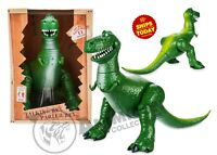 "Disney Store Toy Story 4 REX 12"" INTERACTIVE TALKING ACTION 2019 Movie PIXAR"