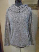1400e170fc Exertek Womens Athelic Sweater Fleece Pull Over Hooded Jacket Size Med (New)