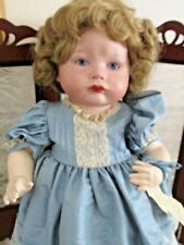 SFBJ #252 Reproduction Doll, Sulking Baby, Artist Joanne Jenkins, Very Nice Cond