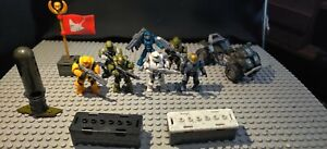 HALO MEGA CONSTRUX LOT UNSC SPARTANS ODST AND ACCESORIES