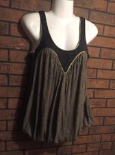 Sass And & Bide Couture Embellished Flowy Top Blouse XS Sz US 0 UK 36 FLAWLESS
