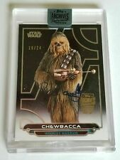 ✨ 2019 Star Wars Archive Peter Mayhew Chewbacca Auto Autograph Signed Movie Card