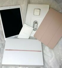 Apple iPad Pro 1st Gen. 256GB, Wi-Fi + Cellular, 9.7in - Rose Gold w/ rose cover