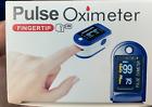PO-1 Fingertip Pulse Oximeter SP02 D428836 Graphical Wave Form Lanyard w/ PI%