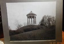Vintage Cabinet Card 11 X14 Englischer Garten Englisg Garden Munich Germany