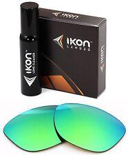 Polarized IKON Iridium Replacement Lenses For Oakley Jupiter LX Emerald Mirror