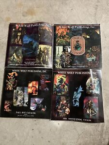 White Wolf Game 1997, '98, 2001, 2001 catalogs