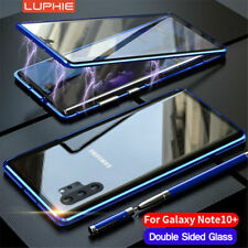 For Samsung S20 Note 10 & Plus A50 A70 Magnetic Adsorption Case Screen Protector