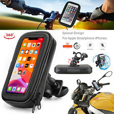 Motor Bike Bicycle Case For All Apple iPhone 360° Rotate Cell Phone Holder Pouch