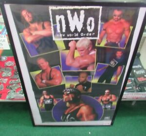 NEW WORLD ORDER NWO POSTER NEW 1998 VINTAGE COLLECTIBLE WCW WWE WRESTLING