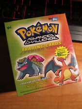 SEALED Pokemon TOPPS ADVANCED CHALLENGE Booster Box 24 Pack Card Set Complete