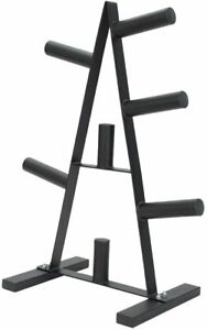 Weight Plate Storage Tree, Plate Rack, Disk Holder, Weight Stand, 7 Holder