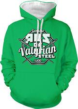 Abs Of Valyrian Steel Genuine Swords Gym Workout Show Two Tone Hoodie Sweatshirt