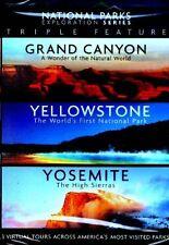 National Parks Exploration Series - Grand Canyon, Yellowstone, Yosemite (DVD)