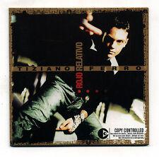 Cds TIZIANO FERRO Rojo relativo PERFETTO 2001 PROMO Mexico Messico