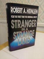 Stranger in a Strange Land by Robert A. Heinlein Original Uncut 1991 Hardcover