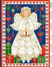 Engel Advent Kalender- Makower Xmas-panel Weihnachten Panel-baumwolle Stoff