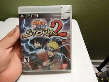Naruto Shippuden: Ultimate Ninja Storm 2 (Sony PlayStation 3, 2010)
