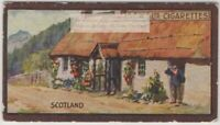 Scottish Thatched Cottage Scotland House 1920s Ad Trade Card