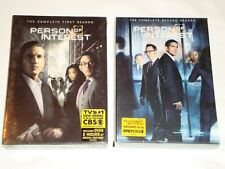 Person of Interest Seasons 1-2, 1 & 2, One Two, One & Two, DVD, CBS,New & Sealed