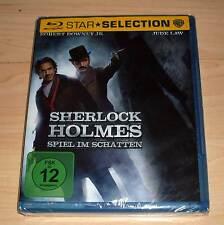 Blu Ray - Sherlock Holmes - Spiel im Schatten - Guy Ritchie - Jude Law - Neu OVP