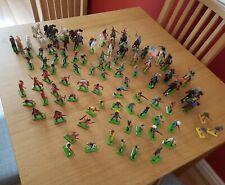 Vintage Britains LTD deetail metal base Toy Soldiers,cowboys,Indians,cavalry