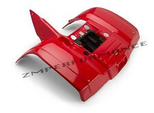 NEW HONDA TRX300 TRX 300 88 - 00 RED REAR FENDER PLASTIC PLASTICS