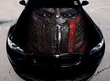Vinyl Car Hood Full Color Graphics Decal Transformers Optimus Prime Sticker