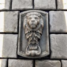 Lions Head Concrete Mold Bas Relief